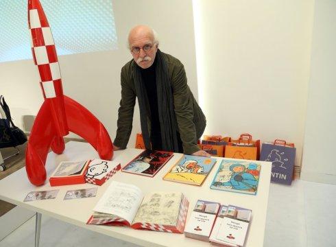 Michael Daubert, autor del llibre Museo Hergé